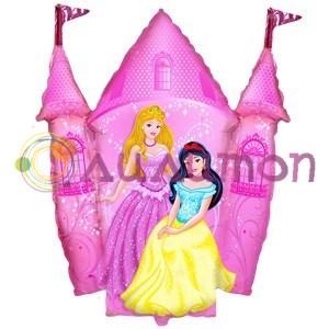 Фольгированный шар 'Замок принцессы'