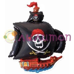 """Фольгированный шар """"Пиратский корабль"""" - фото 5167"""