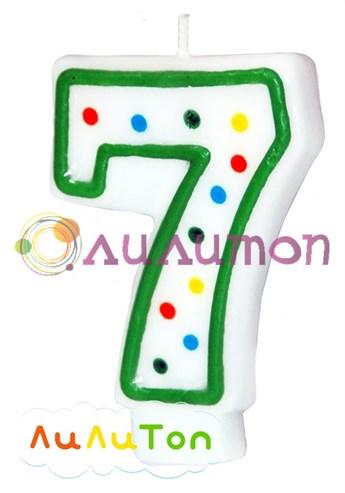 Свеча 'цифра 7'