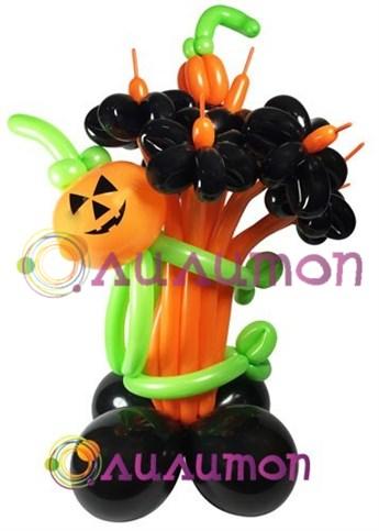 Цветы из шаров 'halloween'