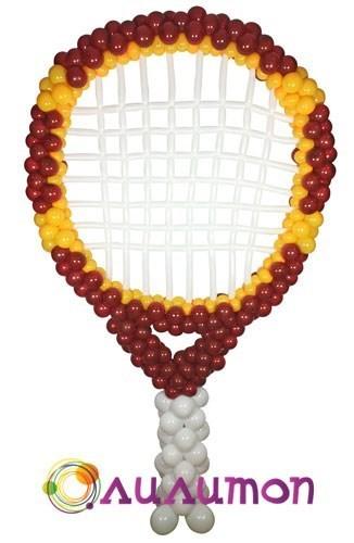 Теннисная ракетка из шаров - фото 5246