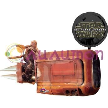 Фольгированный шар 'Звёздные войны'