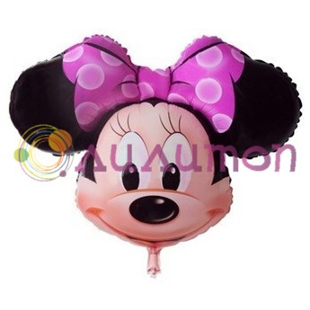 Фольгированный шар 'Минни Маус'