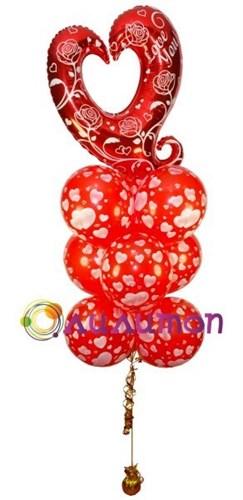 Букет из воздушных шаров 'Для любимых'