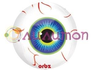 Фольгированный шар ' 3D Глаз'