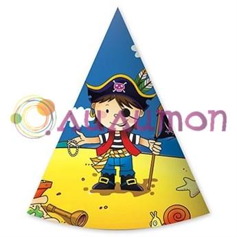 Колпаки 'Маленький пират', 6 штук
