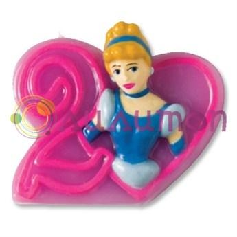 """Свечи-цифры  """"Принцессы"""" - фото 5721"""
