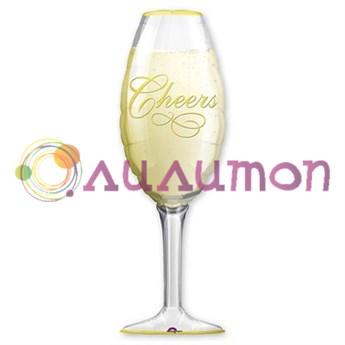 Фольгированный шар 'Бокал шампанского'