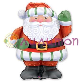 Фольгированный шар 'Санта Клаус!'
