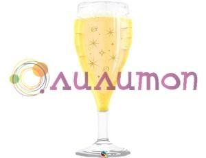 Фольгированный шар 'Игристое шампанское'