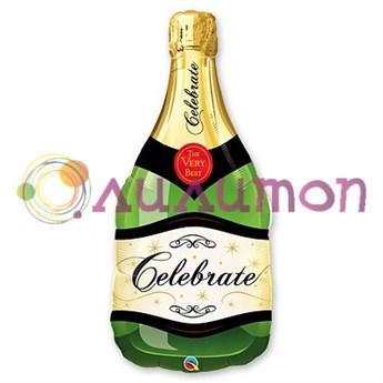 Фольгированный шар 'Шампанское'