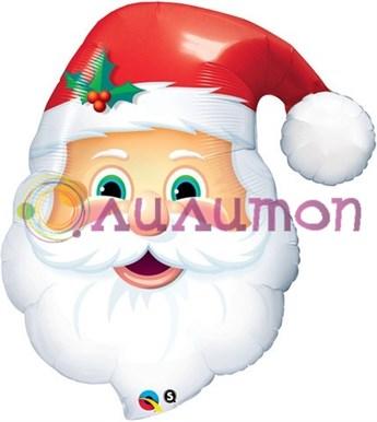 Фольгированный шар 'Санта голова'