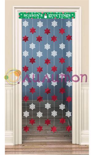 Украшение на дверь 'Снежинки'