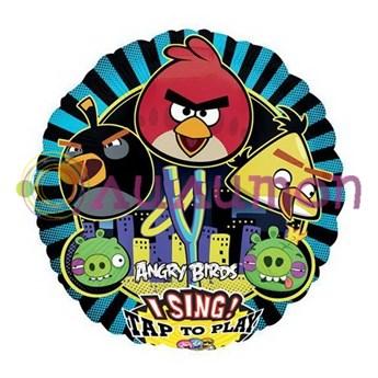 Поющий шар 'Angry Birds'