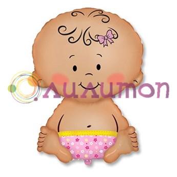 Фольгированный шар 'Новорожденная малышка'