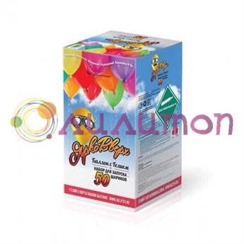 Баллончик с гелием на  50 шариков
