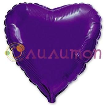 'Фиолетовое сердце' 40 см