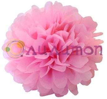 Помпон 25 см (розовый) - фото 7019