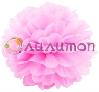 Помпон 15 см (светло-розовый)