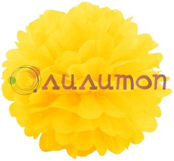Помпон 25 см (желтый) - фото 7125