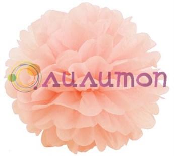 Помпон 15 см (персиковый)