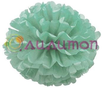 Помпон 15 см (аквамарин)