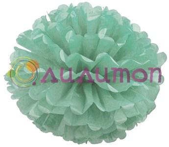 Помпон 25 см (аквамарин)