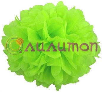 Помпон 15 см (салатовый)