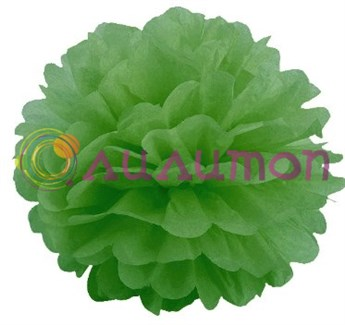 Помпон 25 см (зеленый) - фото 7230