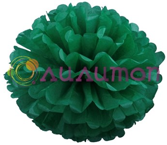 Помпон 35 см (темно-зеленый) - фото 7248
