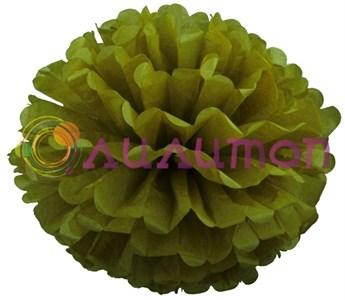 Помпон 45 см (оливковый)