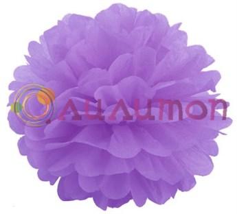 Помпон 15 см (светло-фиолетовый)