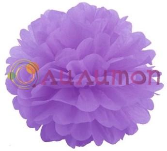 Помпон 35 см (светло-фиолетовый)