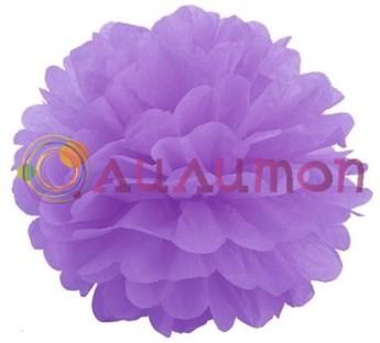 Помпон 45 см (светло-фиолетовый) - фото 7401