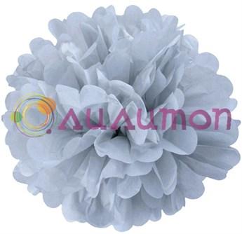 Помпон 35 см (серый) - фото 7503