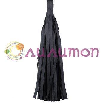 Помпон 'Кисточка Тассел' 35 см, 5 шт  (черный)