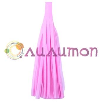 Помпон 'Кисточка Тассел' 35 см, 5 шт  (розовый)