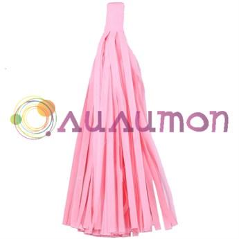 Помпон 'Кисточка Тассел' 35 см, 5 шт  (светло-розовый)