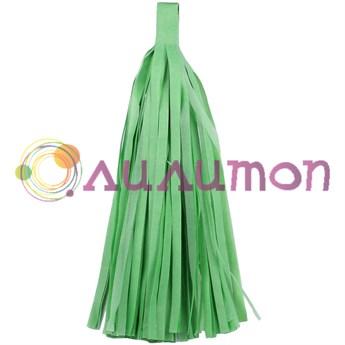 Помпон 'Кисточка Тассел' 35 см, 5 шт  (светло-зеленый)