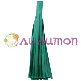 Помпон 'Кисточка Тассел' 35 см, 5 шт  (зеленый)