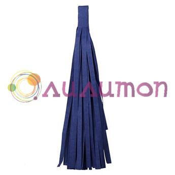 Помпон 'Кисточка Тассел' 35 см, 5 шт  (темно-синий)