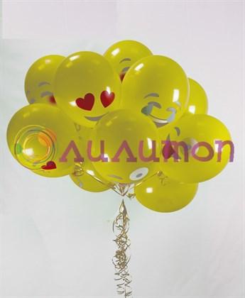 Облако из воздушных шаров 'Эможи'
