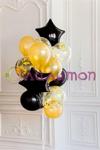 """Букет из воздушных шаров """"Пышный бал"""" - фото 7947"""