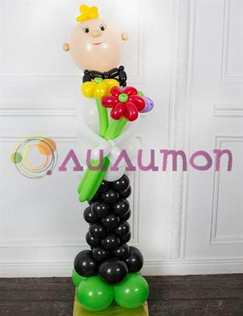 Школьник из шаров