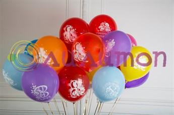 """Воздушные шары """"8 МАРТА"""" - фото 8142"""