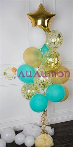 """Букет из воздушных шаров """"Модные оттенки"""" - фото 8259"""