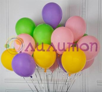 Облако из воздушных шаров 'Весеннее настроение'
