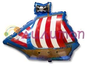 """Фольгированный шар """"Пиратский фрегат"""" - фото 8271"""