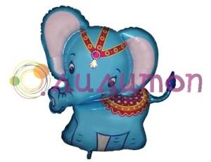 Фольгированный шар 'Слоник голубой'