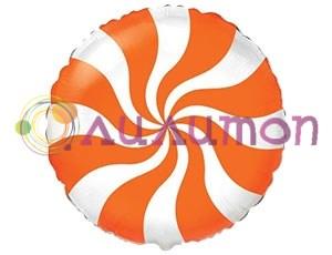 Фольгированный шар 'Конфета оранжевая'
